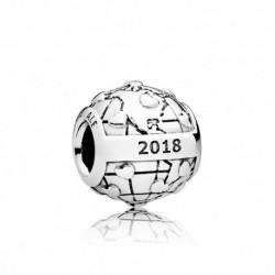 Charm Pandora plata Club Charm 2018 diamante