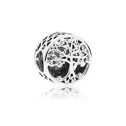 Pandora Charm plata Arbol Raices Familiares 797590