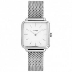 CLUSE Reloj Garconne Mesh CL60001 Esfera blanca