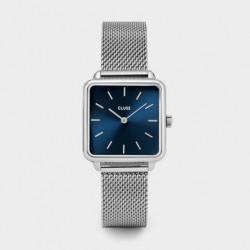 CLUSE Reloj Garconne Mesh CL60011 Esfera azul