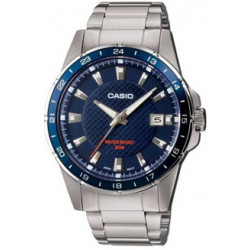 CASIO COLLECTION ESFERA AZUL MTP-1290D-2AVEF