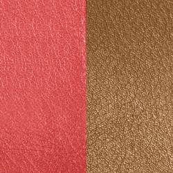 LES GEORGETTES Cuero Reversible 40mm Rojo Anaranjado / Marrón Oscuro 702145799M6000