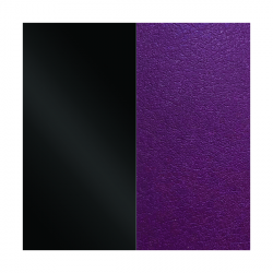 LES GEORGETTES Cuero reversible 25mm Negro Charol / Violeta 702755199CJ000
