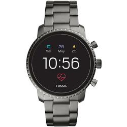 Smartwatch Fossil Q Explorist HR FTW4012 de acero gris