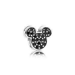 Pandora petite en plata de ley Icono Mickey Brillante