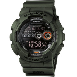 G-SHOCK WRIST WATCH VERDE GD-100MS-3ER