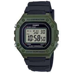 CASIO COLLECTION ILUMINATOR W-218H-3AVEF