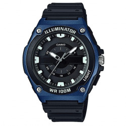 CASIO COLLECTION AZUL Y NEGRO ILUMINATOR MWC-100H-2AVEF