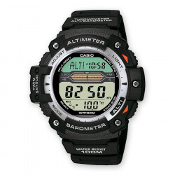 CASIO COLLECTION ALTIMETRO BAROMETRO NEGRO DIGITAL SGW-300H-1AVER