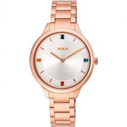Reloj Tous Tartan Acero IP 900350105
