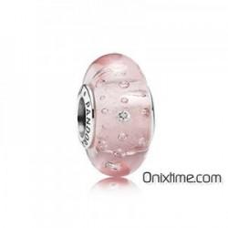 Charm Pandora Burbujas cristal rosa