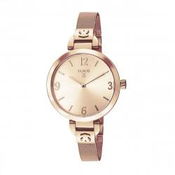 Reloj Tous Bohème acero IP rosado 300350625