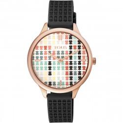 Reloj Tous Tartan multicolor de acero IP rosado 900350135