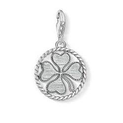 Thomas Sabo Charm Medalla Trébol calado 1759-637-21