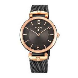 Reloj Tous S-Mesh IP Rosa y IP Negro 700350300