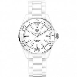 Reloj Tag Heuer Aquaracer Cerámico Blanco WAY1391.BH0717