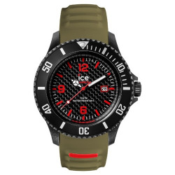 Reloj Ice Watch Carbon Black Khaki CA.3H.BKA.B.S.15