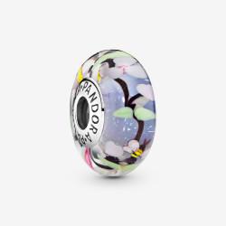 Pandora Charm en plata Cristal de Murano Jardín Encantado 797014