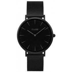 CLUSE Reloj La Bohème Full Black Black mesh CL18111