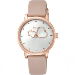 Reloj Tous Bear Time de acero IP rosado 800350925