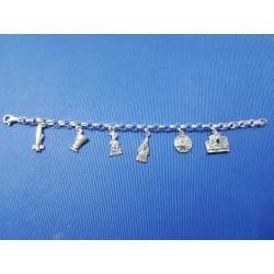Pulsera plata de CARTAGENA PBCT1
