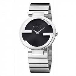 GUCCI Reloj Interlocking Pequeño Acero YA133502