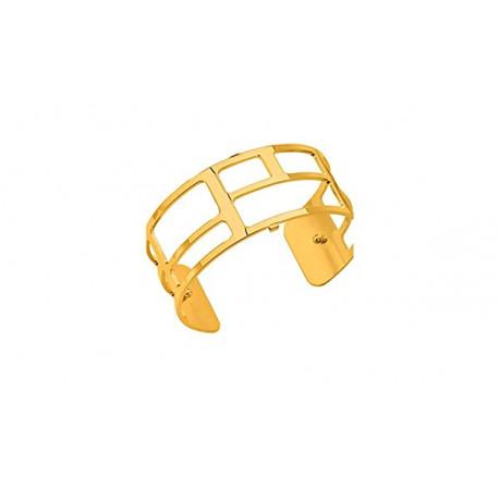 Les Georgettes Pulsera Labyrinthe dorado 25mm 70273720100000