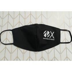 Mascarilla ONIXRBJOYEROS negra Logo