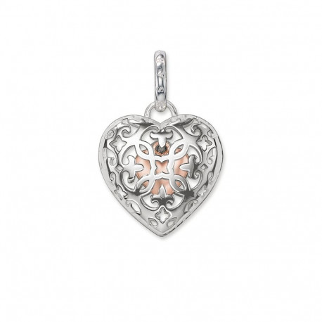 THOMAS SABO Medallón Doble Corazón PE639-415-12