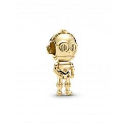 Pandora Shine Charm Disney STAR WARS™ C-3PO™ en 769244C01