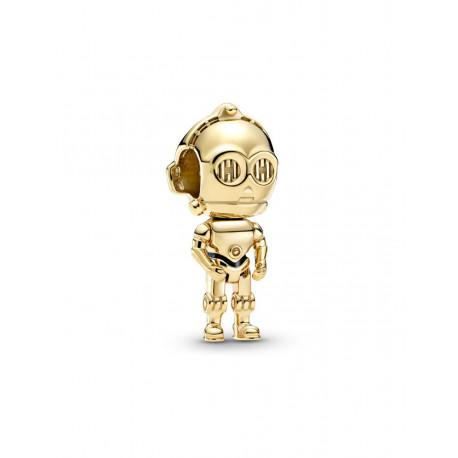 Pandora Shine Charm Disney STAR WARS C3PO en 769244C01