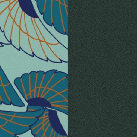 Les Georgette Cuero Reversible 25MM Alas / Petróleo 702755199PV000