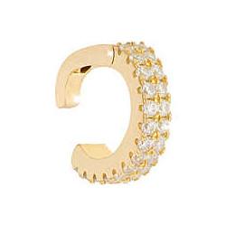 REBECCA Pendiente plata bañado en oro amarillo Eart circonitas SGEOOB01