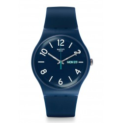 RELOJ SWATCH BLACKUT BLUE