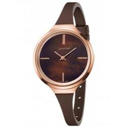 Calvin Klein Reloj Señora Lively marrón K4U236FK