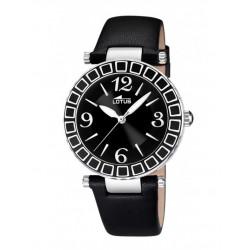 LOTUS Reloj Señora correa negra 15839/4