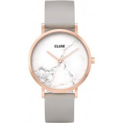 CLUSE Reloj Bohème Chapado Rosa Correa Color Arena y Esfera Mármol CL40005