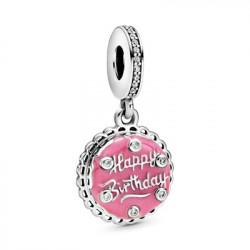 Pandora Charm colgante en plata Tarta de Cumpleaños 798888C01