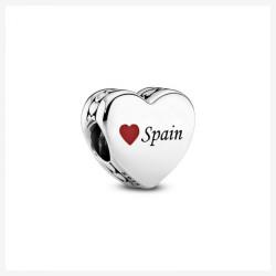 Pandora Charm en plata de ley Corazón Playa 792015_E032