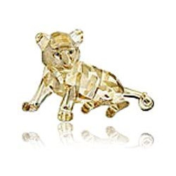 Swarovski Crystal Society 2010 Cachorro de Tigre Sentado, Fauna en peligro de extinción 1016678