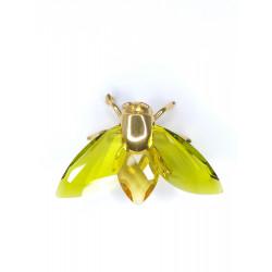 Swarovski Imperdible Cristal Mosca grande color oliva 240363
