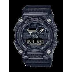 G-SHOCK Reloj Casio Gris Oscuro Transparente GA-900SKE-8AER