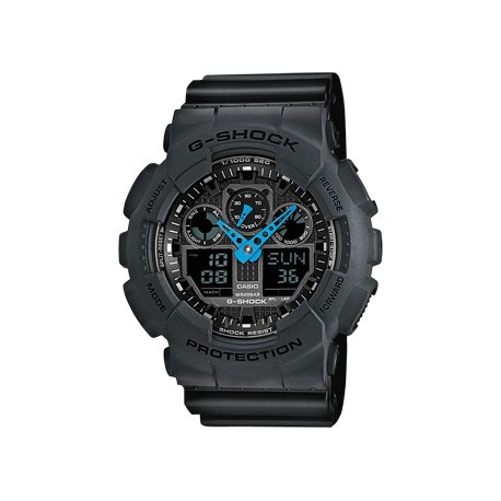 Reloj Casio G-Shock digital resina plata