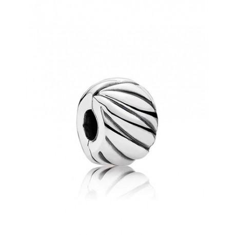 Pandora Charm en plata Clip Plumas Pulidas 791752