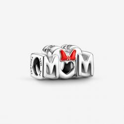 Pandora Disney Charm Mamá y Lazo de Minnie Mouse 799363C01
