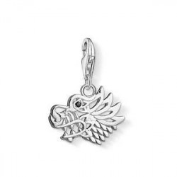 THOMAS SABO Charm Dragón circonita negra 1397-051-11