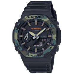 Casio G-Shock bisel Camuflaje GA-2100SU-1AER