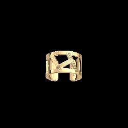 Les Georgettes Anillo dorado Illusion 12mm 70389440100058
